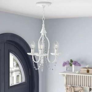 Retro Crystal Chandelier Classical Pendant Light Luxury Elegant Dining Room Bedroom Lamp QM9903