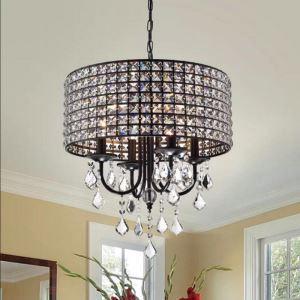 Luxury Crystal Chandelier Light Nordic Elegant Pendant Light Living Room Bedroom Lamp QM9910