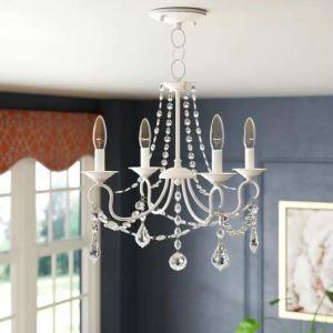 Luxury Crystal Chandelier Vintage Warmth Lighting Simple Lighting Living Room Study Lamp QM9927