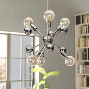 Nordic Pendant Light Globe Shape Chandelier Creative Warmth Light Dining Room Bedroom Lamp QM9922