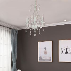 Luxury Crystal Chandelier Nordic Elegant Home Light Living Room Dining Room Lamp QM9926