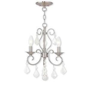 Crystal Chandelier Nordic Luxury Elegant Light Lamp Living Room Dining Room Light QM9935