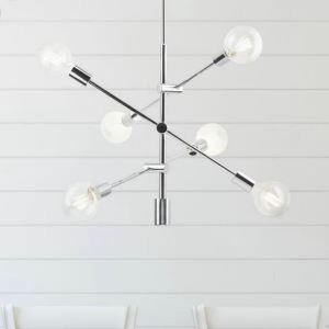 Modern Nordic Pendant Light Simple Globe Chandelier Light Living Room Bedroom Lamp QM88280