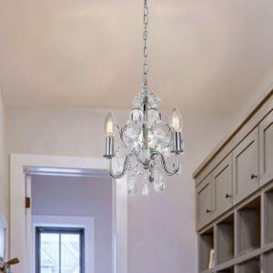 Luxury Crystal Chandelier Nordic Style Lamp Modern Creative Lighting Hallway Study Light QM9904