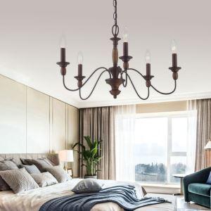 Retro Classical Chandelier Pendant Light Warmth Light Bedroom Living Room Lamp QM9912 QM9913