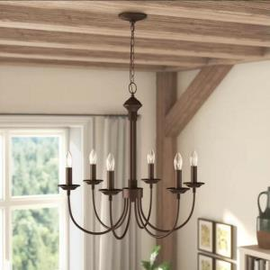 Vintage Classical Chandelier Classy Simple Home Light Dining Room Bedroom Lamp QM9914