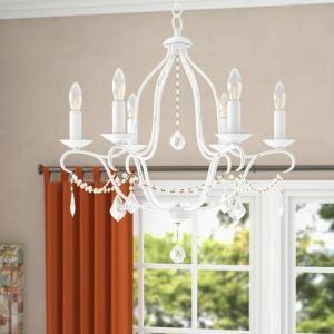 Elegant Crystal Chandelier Vintage Creative Home Light Living Room Bedroom Lamp QM9908