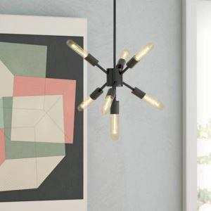 Creative Nordic Pendant Light Mini Simple Chandelier Home Lighting Hallway Bedroom Lamp QM88190