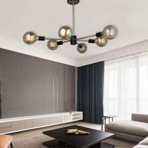 Nordic Modern Chandelier Magic Bean Lamp Creative Globe Light Living Room Bedroom Light QM9925