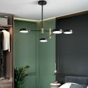 Nordic LED Pendant Light Acrylic Chandelier Foldable LED Lamp Living Room Dining Room Light QM8517