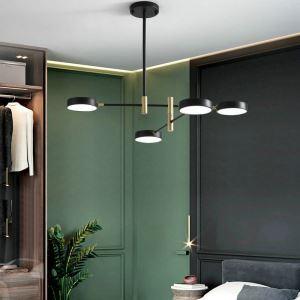 Nordic LED Pendant Light Acrylic Chandelier Foldable LED Lamp Living Room Dining Room Light QM8517