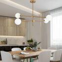 Nordic LED Pendant Light Magic Bean Lamp Globe Light Dining Room Bedroom Light QM88280C