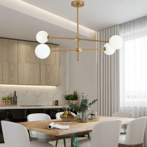 Nordic LED Pendant Light Magic Bean Lamp Globe Light Dining Room Bedroom Light QM88280C