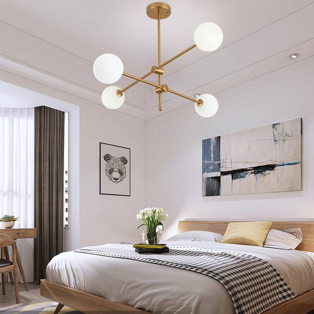 Nordic LED Pendant Light Magic Bean Lamp Globe Light Dining Room