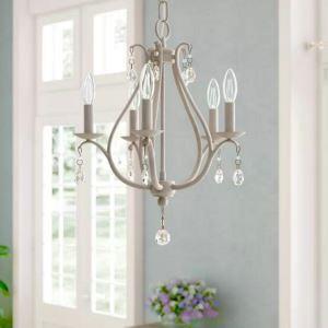 Simple Crystal Chandelier Elegant Vintage Style Light Living Room Dining Room Lamp  QM9907