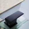 Black Bathroom Sink Faucet Glass Orb Oil Rubbed Bronze
