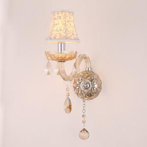 Elegant Crystal Sconce European Style Wall Light Bedroom Aisle