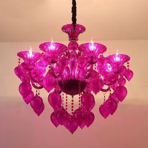 European Crystal Chandelier Unique Design Pendant Light Bedroom Living Room