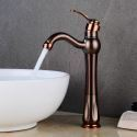 Bronze Bathroom Sink Single Faucet Mixer Tap Oil Rubbed Bronze