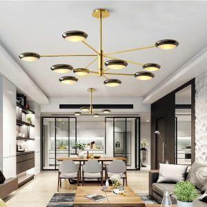 Modern Pendant Light Round Shape Chandelier Decoration Lamp Bedroom Restaurant Lighting QM1825