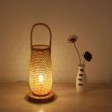 Special Bamboo Lantern Japanese Creative Table Lamp Bedroom Study Room Decorative Desk Lamp