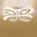 Modern Simple LED Flush Mount Acrylic Heart-Shape Ceiling Light Living Room Study 1766