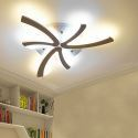 Modern Dandelion LED Flush Mount Simple Ceiling Light Bedroom Living Room QW-8091