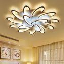 Modern Simple LED Flush Mount Acrylic Windmill Ceiling Light Living Room Study MW-8150Y