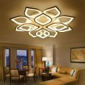 Modern Simple LED Flush Mount Acrylic Petal Ceiling Light Bedroom Study QW-H8181