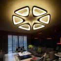 Modern Triangle LED Flush Mount Acrylic Ceiling Light Living Room Dining Room