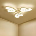 Modern Simple LED Flush Mount Acrylic Petal Shape Ceiling Light Living Room Dining Room QW-H8183