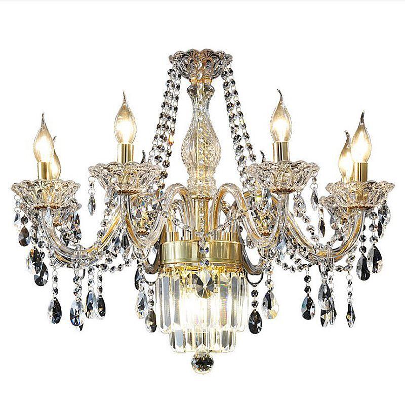 large crystal chandelier european classic pendant light