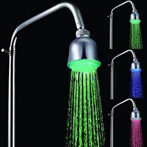 Chrome LED Rain Shower Head 1039-M4304