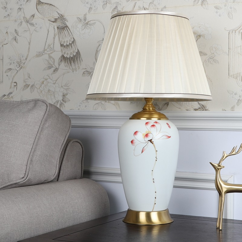 Modern Creative Table Lamp Hand Drawn, Table Lamps For Living Room