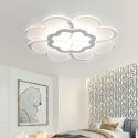 Modern Simple LED Flush Mount Flower Shape Dining Room Bedroom Lighting