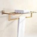 Golden Shelf Retro Style Copper Towel Shelf SLLK001