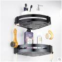 European Black Bath Shelf Bathroom Tripod BL-T1008L