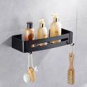 European Black Bath Shelf BL-T1008L
