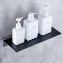 Black Thicken Aluminum Alloy Shelf Bathroom Kitchen