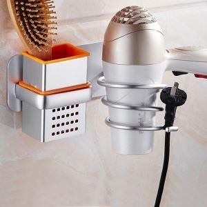 Aluminum Alloy Multifunction Hair Dryer Holder BJL9113