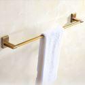 European Style Copper Towel Bar Antique Gold Towel Rack M0902