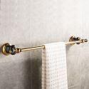 European Copper Towel Bar Retro Pastoral Style Towel Rack BJL5511