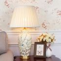 Modern Simple Table Lamp Cozy Glaze Lighting Ceramic Base Lamp Living Room Bedroom Light HY105