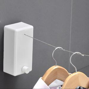Adjustable Balcony Wire Rope Clothesline