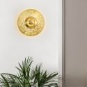 Nordic Brass Wall Lamp Hollow-out Sconce Light Bedroom Living Room B5506