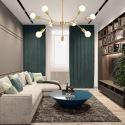 Nordic Magic Bean Pendant Lamp Brass Lamp Living Room Bedroom D032