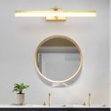 Nordic LED Mirror Front Light Rectangle Brass Wall Lamp Bedroom Living Room JQ3303