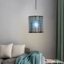 Modern Iron Wrought Pendant Light Colorful Study Living Room Light Fixture