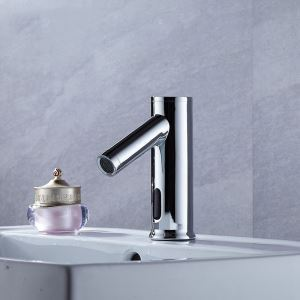Brass Smart Water Saver Tap Infrared Motion Sensor Water Faucet for Bathroom