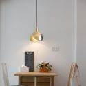 Nordic Brass Pendant Light Opening Brass Mini Light Fixture Living Room Office CD2216